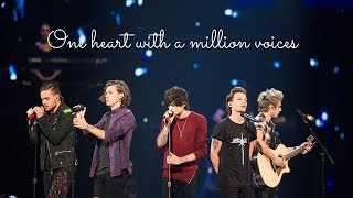 One Direction   Heart with Million Voices