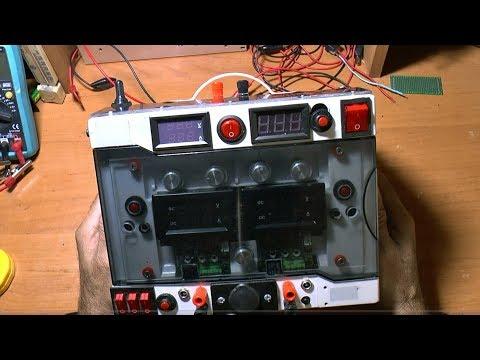 Мощный лабораторный блок питания, 1.5-80 вольт 15 Ампер с автономным питанием, 16.8 вольт 15 ампер