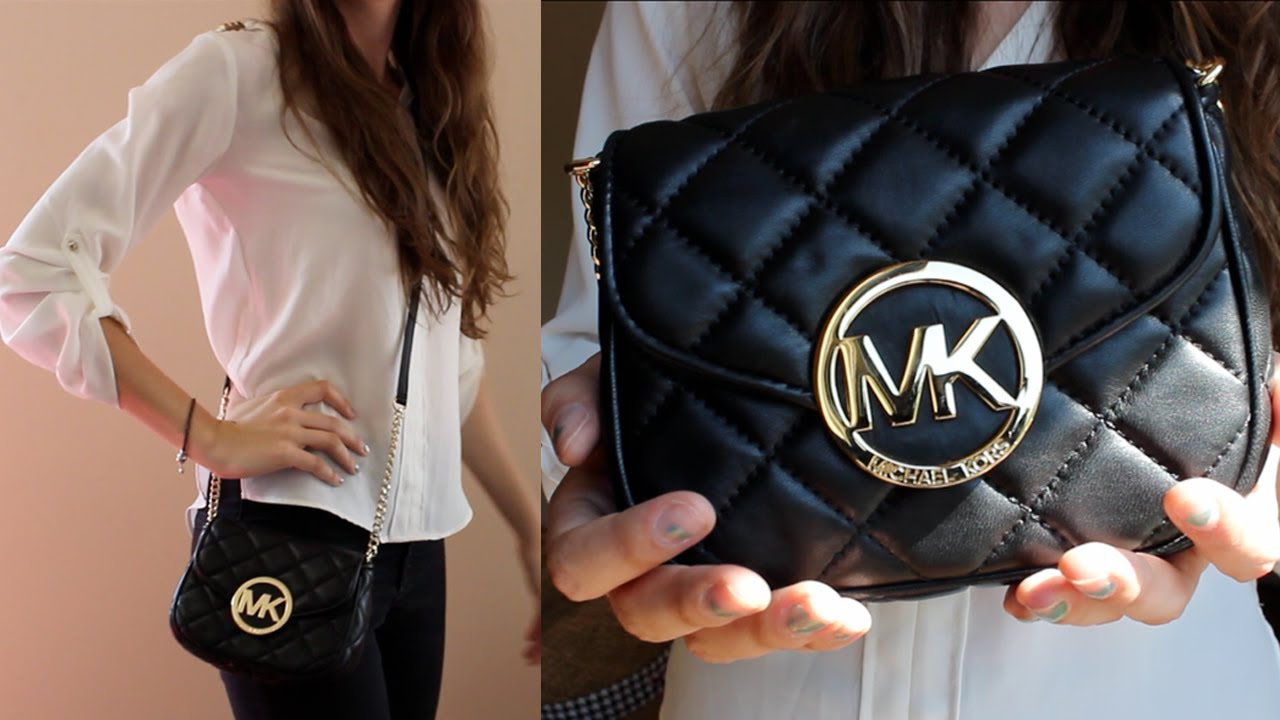 dc57c14812d78 MICHAEL KORS Quilted Mini Fulton Review!