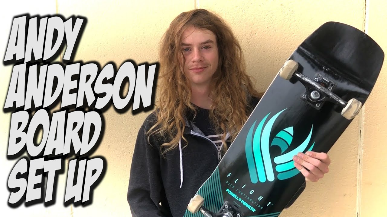 ANDY ANDERSON BOARD SET UP AND INTERVIEW !!!
