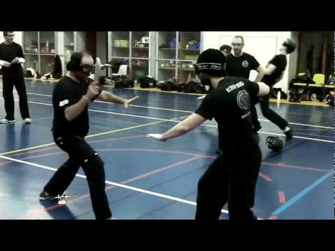 Fighting against a group,knife combat,improvised weapons- A.C.T. seminar in France 2012