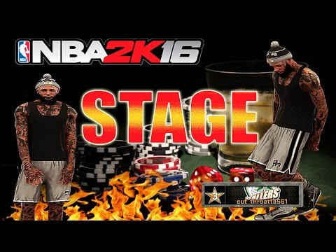 NBA 2K16 THE STAGE playing 21