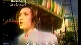 Here's something quite unique... A TV appearance of Gackt, Mana, Ka...
