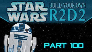 DeAgostini Build Your Own R2-D2 Part 100: The Completed Droid!