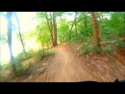 Chewacla Mountain Bike Trail Compilation