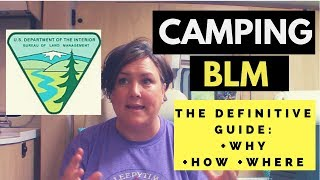 How to CAMP oฑ BLM: A Definitive Guide to Why, How and Where!