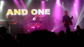 And One - Recover You (LIVE! Barcelona, Sala Bikini 30-9-2016)