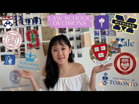 REACTING TO MY LAW SCHOOL DECISIONS 2020   15 Law Schools (Harvard, Yale, Columbia, Toronto + More)