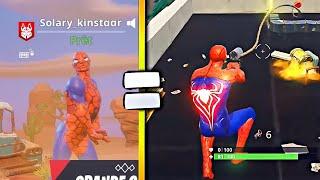 HAVE THE SKIN SPIDERMAN ON FORTNITE IN GAME [TUTO EN]