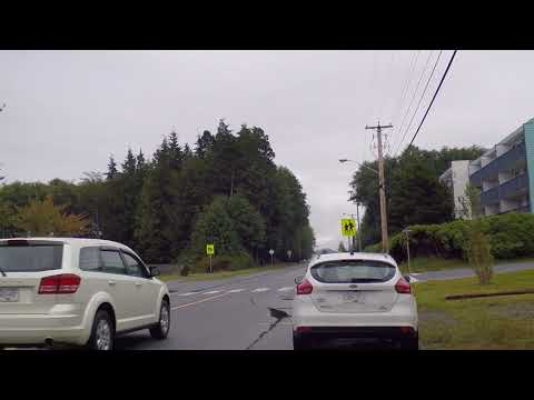 Port Hardy BC Canada - Driving Around Town - Quick Tour - Life on Vancouver Island