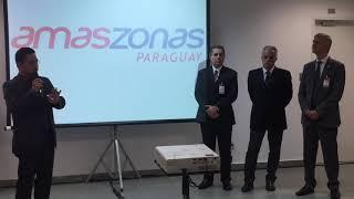 Amaszonas Paraguay - Conferencia de prensa en Viracopos