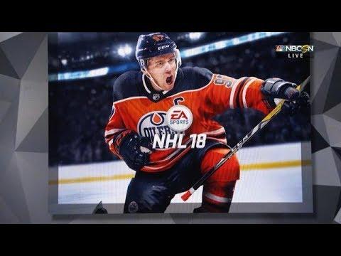 Connor McDavid EA Sports NHL 18 Cover