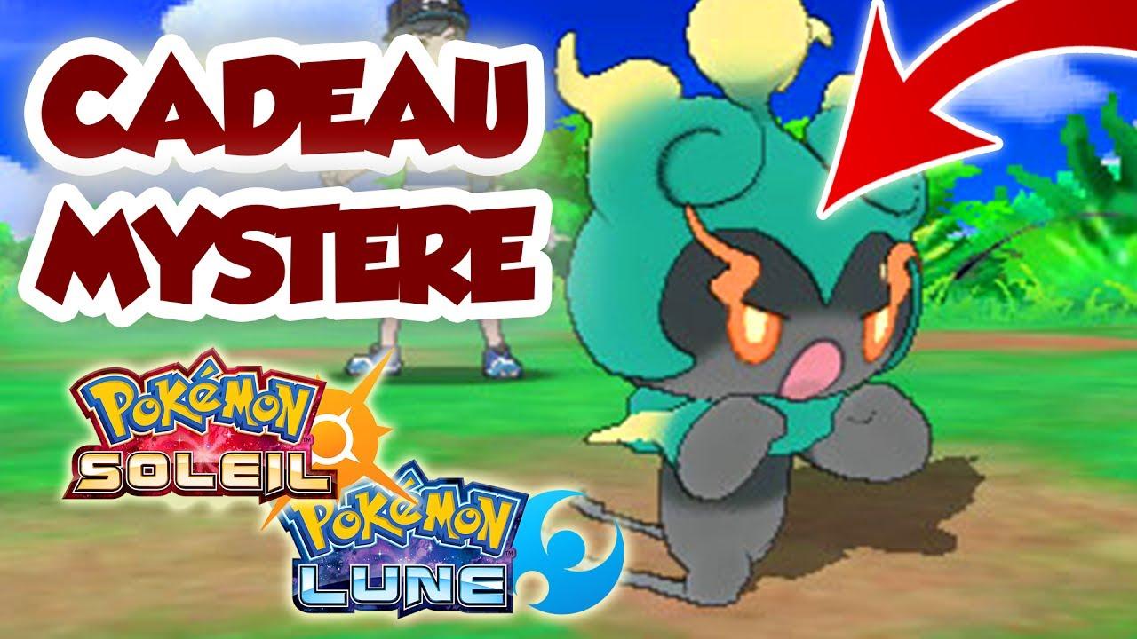 Recevoir Marshadow Par Cadeau Mystere Sur Pokemon Soleil Et Lune Get Marshadow
