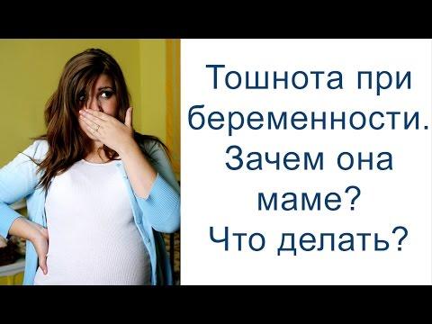 Тошнота при беременности. Зачем она маме? Как облегчить состояние?