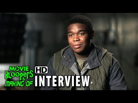 Maze Runner: The Scorch Trials (2015) Behind the Scenes Movie Interview - Dexter Darden is 'Flypan'
