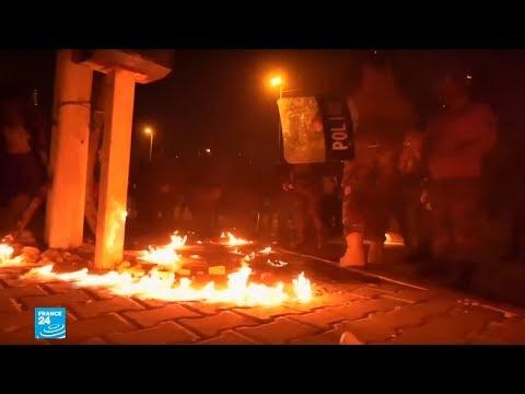 العراق: تجدد المواجهات في بغداد بين المتظاهرين والشرطة  - 16:01-2019 / 11 / 21