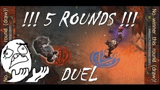 Drakensang - Crymaker vs Xabrok 'the 5 round duel madness'