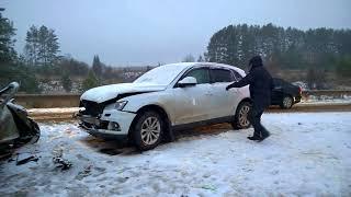29.10.2017 Последствия ДТП на 47 км автодороги «Ижевск – Сарапул» (Сарапульский район)