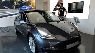 La Tesla Model 3 arrive enfin en France !