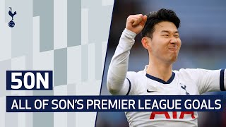 ALL OF HEUNG-MIN SON'S PREMIER LEAGUE GOALS