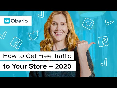 How to Get Free Traffic to Your Shopify Store 3 Ways to Drive Traffic in 2019 thumbnail