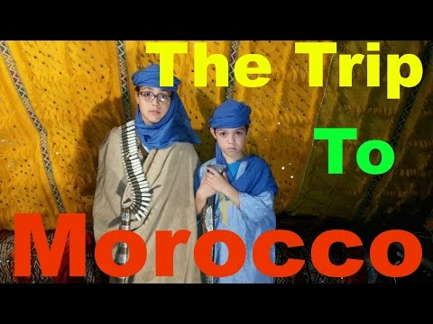 The Trip To Morocco... Airports , Rabat, Oujda. (Part I )//