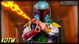Star Wars Battlefront 2 TOP 5 KILLS OF THE WEEK (Boba Fett Rocket Destruction!)