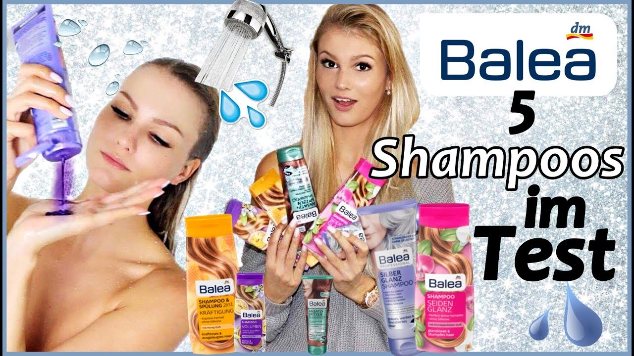 5 Balea Shampoos über 2 Monate Getestet I Erfahrungen