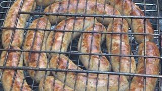 Курино-свиные гриль колбаски