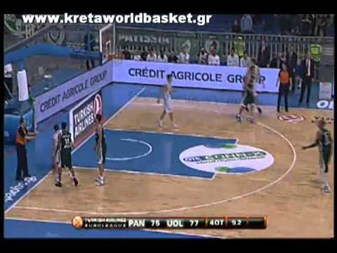 Panathinaikos Athens   Union Olimpija Ljubljana 95 88 highlights Euroleague 2011 Regular Season Game 8 Basketball 9 12 10 Μπάσκετ Ευρωλίγκα ΠΑΟ Παναθηναϊκός PAO Ολίμπια Λιουμπλιάνας