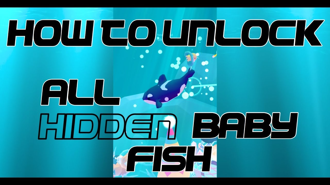 Tap tap fish abyssrium how to unlock all of the hidden for Tap tap fish all hidden fish