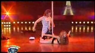 Showmatch 2007 - Lo mejor del 2007: El baile del caño de Catherine Fulop