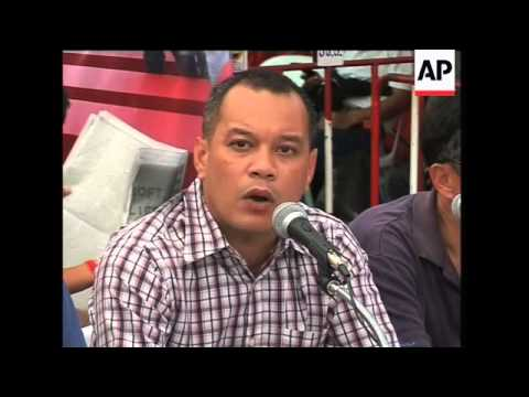 "WRAP Blockades, rail suspension, reax, ""red shirts"" comment"