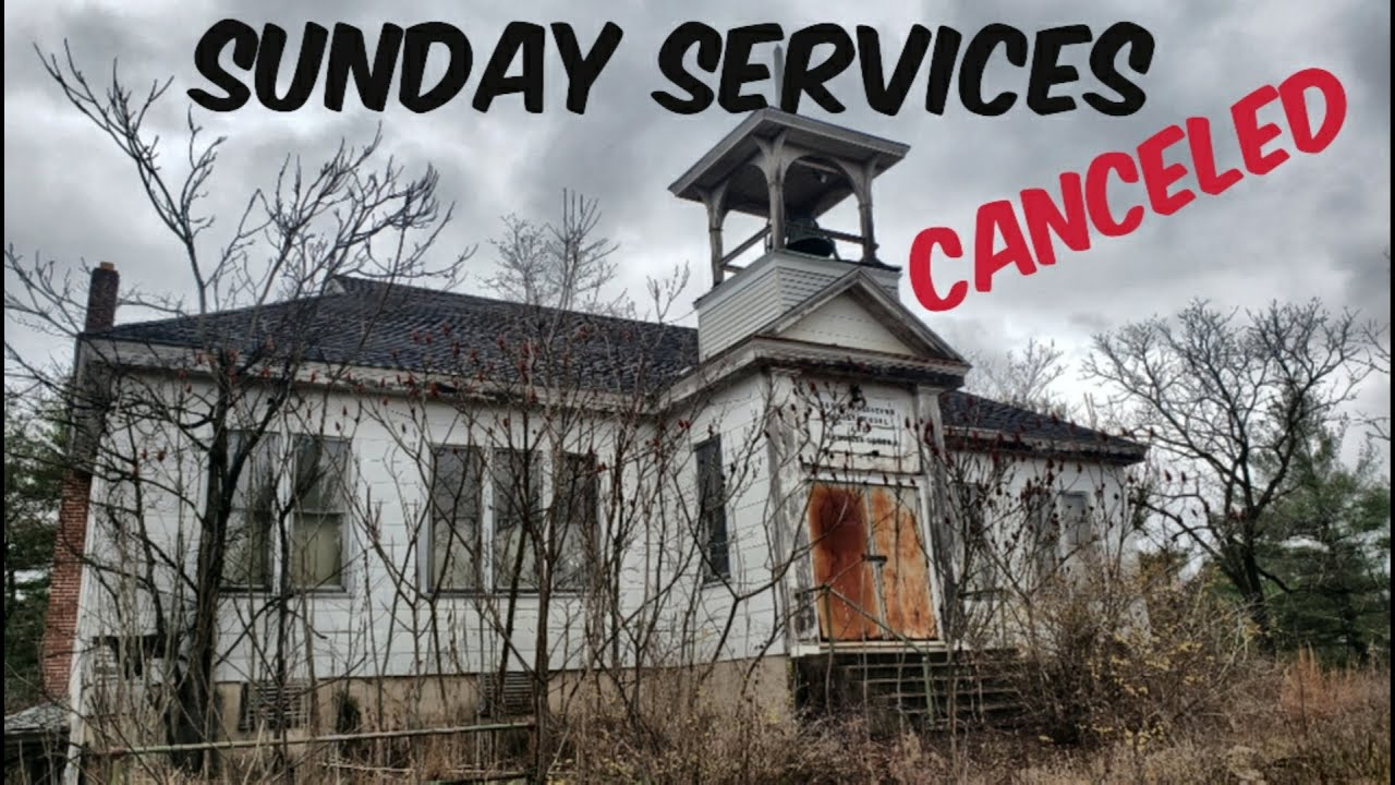 Natural Decaying Church -- No More Sunday Services