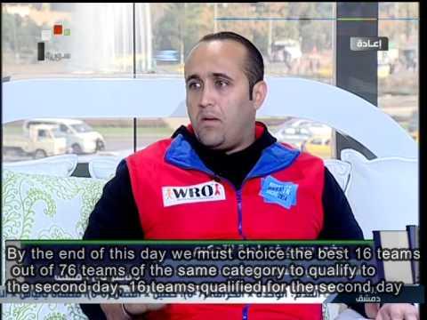 Syria after World Robotic Olympiad in Russia - Mohamad Waseem Saad - Yamem Hadad