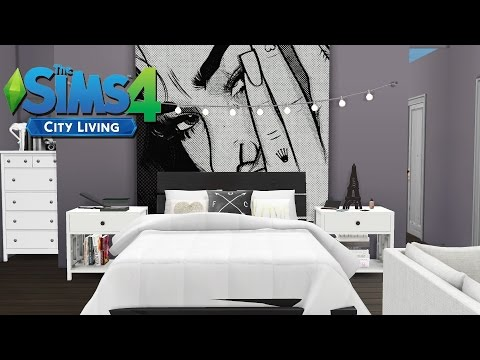 TUMBLR STUDIO APARTMENT | The Sims 4 City Living | Speed Bui