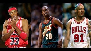 NBA All-Time First Defensive Team