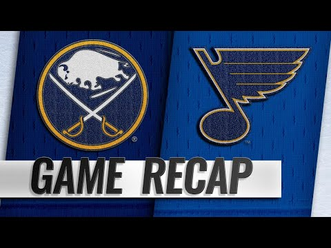 O'Reilly, Allen help Blues take down Sabres, 4-1