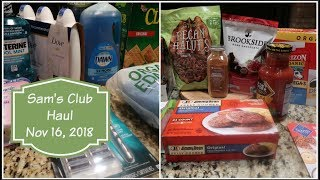 Sam's Club Haul - Nov 16, 2018 | Cooking for Two