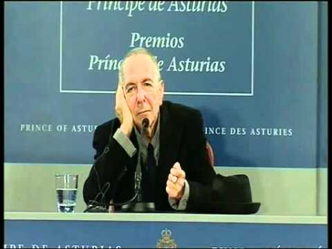 Ruedas de prensa de Leonard Cohen