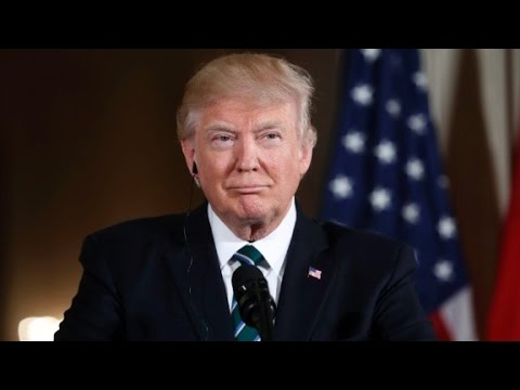 Trump arrives on Capitol Hill