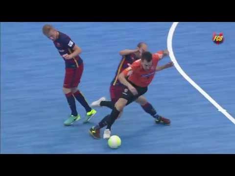 [HIGHLIGHTS] FUTSAL (International Cup): Carlos Barbosa -  FC Barcelona Lassa (3-3)