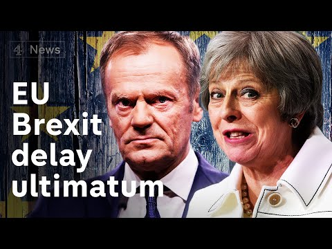 EU ultimatum to May: you can only delay Brexit if deal is passed