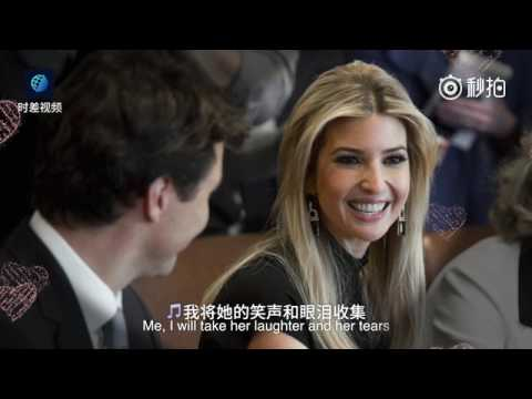 Ivanka falls in love with Our Trudeau