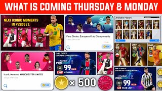 What Is Coming 29 July Thursday & Next Monday | Free Coins & Rewards | Pes2021