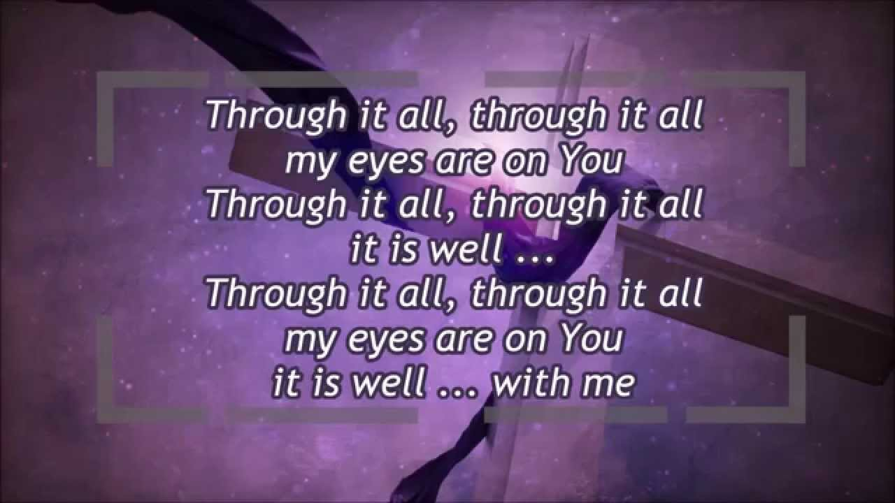 It Is Well (Kristene DiMarco) with lyrics - YouTube