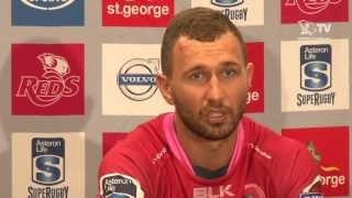 St.George Queensland Reds v Cheetahs Press Conference
