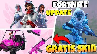 HOW TO GET A FREE WEAPON-SKIN IN FORTNITE * PINK WEAPON & VEHICLE-WRAPING *