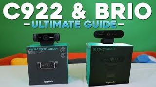 Logitech C922 \u0026 BR O Ultimate Guide Setup Quality Green Screen Lighting \u0026 Troubleshooting