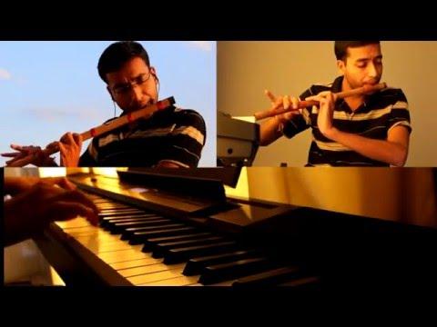 Main Tenu Samjhawan ki - Flute Cover with Piano